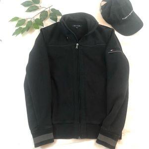 Tommy Hilfiger Sweater Jacket Fleece Line XS Black